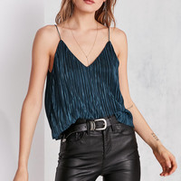 Silence + Noise Baby Pleat Slip Cami | Urban Outfitters