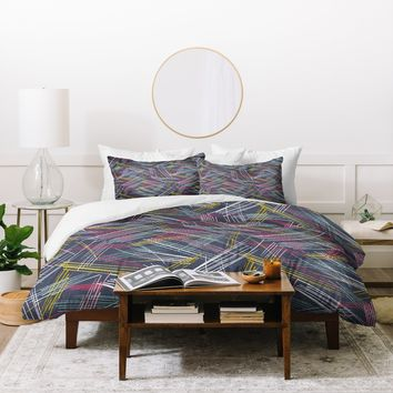 Heather Dutton Soho Midnight Duvet Cover