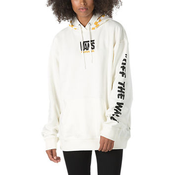 Raceway Oversized Pullover Hoodie | Shop Womens Sweatshirts At Vans