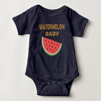 Watermelon Baby Clothing Baby Bodysuit