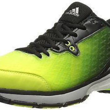 adidas Performance Women's Energy Volley Boost 2.0 Shoe,Yellow/Silver/Black,1...