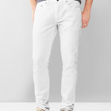 Gap Men 1969 Skinny Fit Jeans Stone White Wash