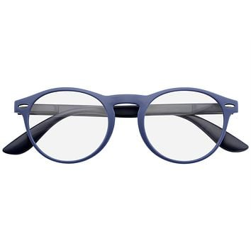Reading Glasses Womens Mens Classic Retro Reader Round Keyhole Readers Eyewear