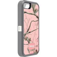 Otterbox Defender Rugged Combo Case + Holster for iPhone 5 or 5S - Camo AP/Pink