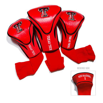Texas Tech Red Raiders NCAA 3 Pack Contour Fit Headcover