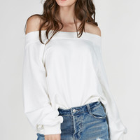 Hot N' Cold Off Shoulder Sweater