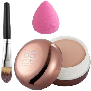 Face BB Cream Camouflage Concealer with Foundation Kit