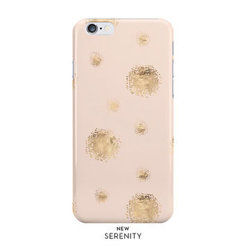 Rose Gold Dots iPhone Case, iPhone 6, iPhone 6 Plus, iPhone 5/5s, Rose Gold Dots Samsung Galaxy Case,faux rose gold, Pink, NewSerenityStudio