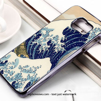 Hokusai Great Wave Art Samsung Galaxy S6 and S6 Edge Case