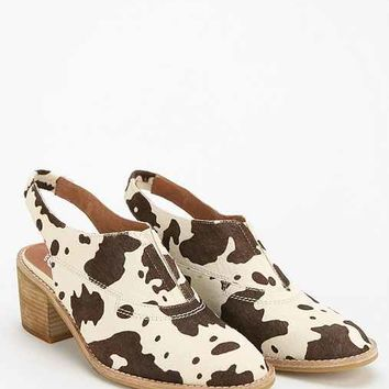 Jeffrey Campbell Peck Slingback Mule- Neutral Multi