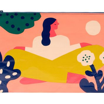 Soak Up The Sun Jumbo Zipper Pouch - PRE-ORDER, SHIPS IN AUGUST