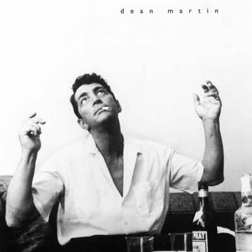 Dean Martin Hollywood Dressing Room 1961 Poster 11x17