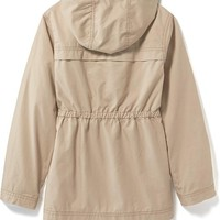 Relaxed Lightweight Utility Jacket for Girls | Old Navy