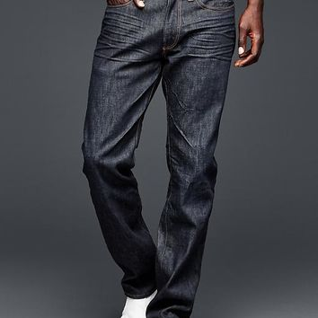 Gap Men 1969 Straight Fit Jeans Resin Rinse