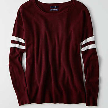 AEO Ahh-mazingly Soft Easy Sweater, Burgundy