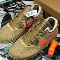 OFF-WHITE x AIR MAX 90 OW AA7293-200