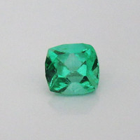 Emerald Ring Loose Extra Fine Emerald Colombia Radiant-cut shape 1.36 carat May Birthstone - Certified by GCI