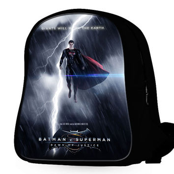Superman In The Lightning Backpack