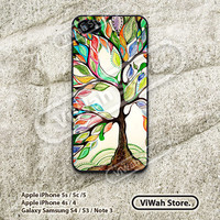 Tree iPhone 5 Case, Love Tree of Life iPhone 5 5s 5c Hard Case Rubber Case, cover skin case for iPhone 5 5s 5c case