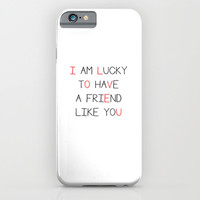 I love you iPhone & iPod Case by Deadly Designer
