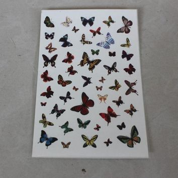 ac PEAPON Butterfly Tattoo Sticker [6283901318]