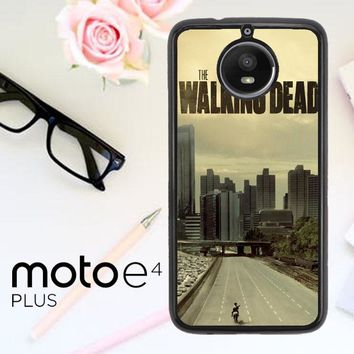 Walking Dead Daryl Dixon F0243 Motorola Moto E4 Plus Case