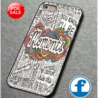 One Direction Moments Lyric for iphone, ipod, samsung galaxy, HTC and Nexus Phone Case