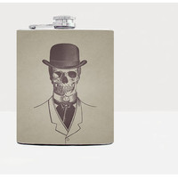 Scull hip flask - Gift for him, for her - Gifts for him - Unique gift for men - Hip flasks - 21st birthday gift