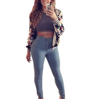 High Waist Jeans Skinny Pants