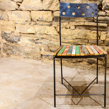 Café Fiesta - Urban Industrial Dining Chairs and Bar Stools