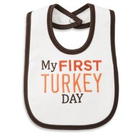 Carter's® My First Turkey Day Bib