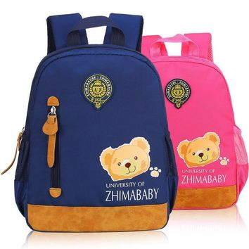 2017 Hot Sale Fashion Children School Bags Cartoon Backpack Baby Toddler Kids Book Bag Kindergarten Boy Girl Backpacking
