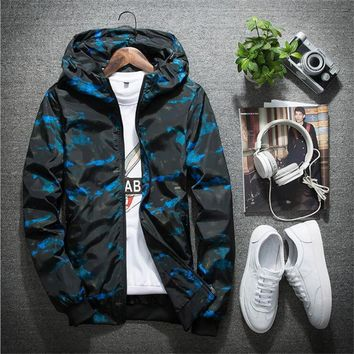 63ff49ff967 New Camouflage Jacket Men Women Plus Size Camo Hooded Windbreake