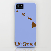 Lilo and Stitch iPhone Case by Citron Vert | Society6