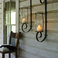 Flat Iron Wall Sconce- Iron Only
