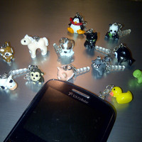 Animal Cell Phone Dust Plug Charm