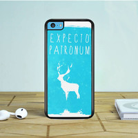 Harry Potter Magic Spells Expecto Patronum iPhone 5 5S 5C Case Dewantary