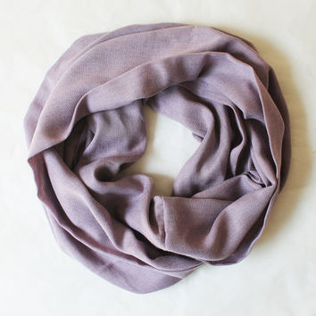 lilac pashmina scarf,infinity scarf, scarf, scarves, long scarf, loop scarf, gift