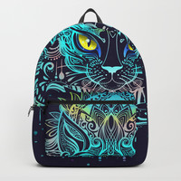 Cat Mandala Backpack by printapix