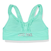 Lace Yoga Push-Up Bra - PINK - Victoria's Secret
