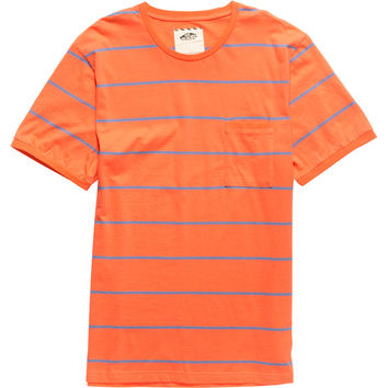 Vans Beeston Crew - Short-Sleeve - Men's Living Coral/Colony Blue,