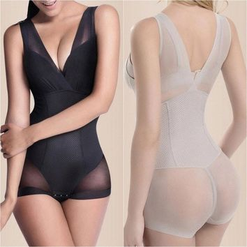 Lady Nude Black Slip Body Shaper Firm Tummy Control Underbust Shapewear L XL XXL