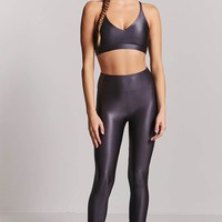 Active Nylon-Blend Leggings