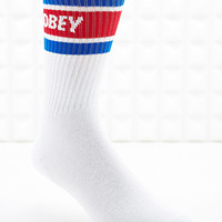 "Obey ""Cooper"" Socken in Weiß - Urban Outfitters"