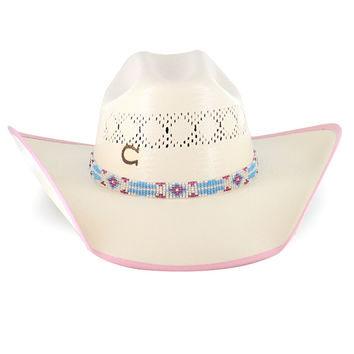 Charlie 1 Horse Girls' Gracie Straw Hat
