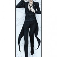 Black Butler Sebastian Body Pillow Version 2