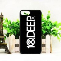 Top Famous 10 Deep Logo Fit Hard Case For iPhone 6 6s 7 8 Plus X Cover +