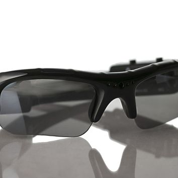 Video Recorder Sunglasses Spycam Rechargeable for Private Investigator