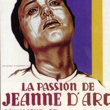 The Passion of Joan of Arc (French) 11x17 Movie Poster (1928)
