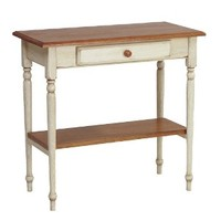 Country Cottage Foyer Table with Drawer